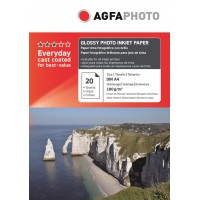 Hartie foto A4 Agfa lucioasa 180g/mp pachet de 20 coli