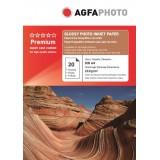 Hartie foto A4 Agfa lucioasa 210g/mp pachet de 20 coli