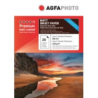 Hartie foto A4 Agfa mata fata-verso 220g/mp pachet de 20 coli