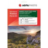 Hartie magnetica A4 Agfa Photo glossy 680g/mp la pachet de 10 coli