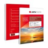Etichete din hartie foto A4 lucioase Agfa Photo- hartie autocolanta lucioasa (glossy) 135g/mp pachet de 20 coli