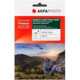 Hartie foto magnetica 10x15 (4R) Agfa Photo glossy 680g/mp la pachet de 10 coli