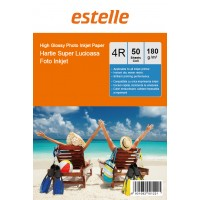 Hartie foto 4R (10x15) glossy single side 180g/mp la pachet de 50 coli