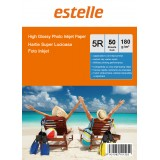 Hartie foto 5R (13x18) glossy single side 180g/mp la pachet de 50 coli