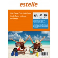 Hartie foto 5R (13x18) glossy single side 180g/mp la pachet de 50 coli