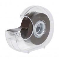 Banda magnetica adeziva cu suport taietor (dispenser) - lungime 5m, latime 19mm, grosime 0,3 mm