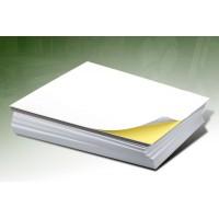 Hartie autoadeziva A4 lucioasa - etichete autocolante glossy 135g/mp pachet de 50 coli
