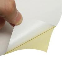 Hartie autocolanta lucioasa A4 - hartie autoadeziva glossy - pachet 20 coli