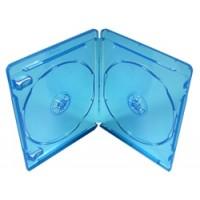 Carcasa bluray BD albastra 11mm dubla
