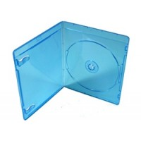Carcasa bluray BD albastra 11mm single