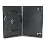 Carcasa DVD neagra 14mm single