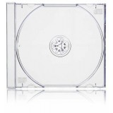 Carcasa CD normala jewel case cu tava transparenta si grosime de 10.4mm