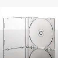 Carcasa CD slim cu tava transparenta- grosime 5.2 mm