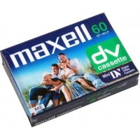 Caseta pentru camera video miniDV (DVM) Maxell  60min SP / 90min LP