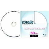 BD R DL inkjet printabil 50 GB dual layer suprafata semi mata cu carcasa slim CD viteza de scriere 4x