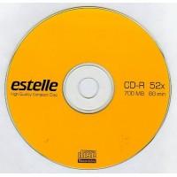 CD R80 estelle cu logo viteza 52x (blank, bulk)