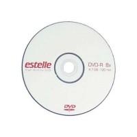 DVD-R 4.7GB estelle 8x - pachet de 10 discuri