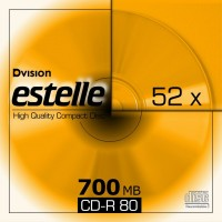 CD R80 estelle cu carcasa slim CD