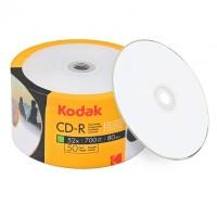 CD R80 Kodak inkjet printabil lucios (glossy) viteza 52x- pachet de 50 discuri