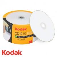 CD R80 Kodak inkjet printabil suprafata semi mata viteza 52x- pachet de 50 discuri