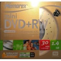 mini DVD+RW 1.4GB Memorex