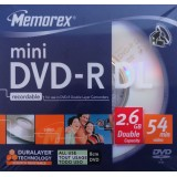 mini DVD-R DL (dual layer) 2.6GB Memorex viteza maxima 4x