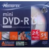 mini DVD-R DL (dual layer) 2.6GB Memorex viteza maxima 4x