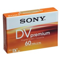Caseta pentru camera video miniDV SONY (DVM) 60min SP / 90min LP